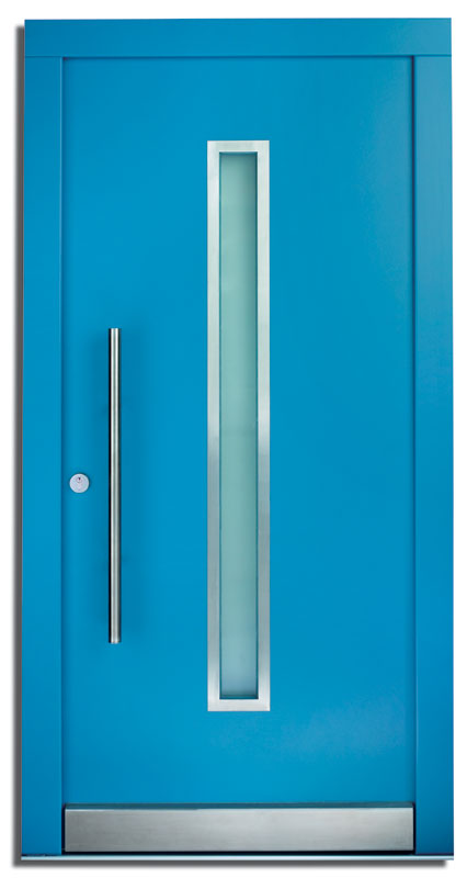 Haustüre - Inn - hellblau